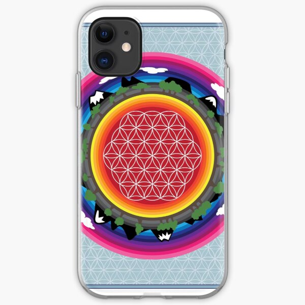 Flower Planet iPhone Soft Case
