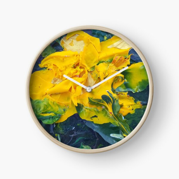 Golden (Acrylic) Clock