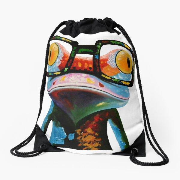 Gafas Hipster Frog Nerd Mochila saco