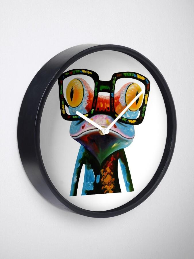 Vista alternativa de Reloj Hipster Frog Nerd Glasses