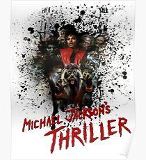"Michael Jackson's ""Thriller""  Poster"