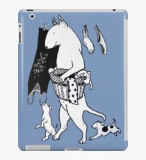 Bull Terrier Laundry iPad Case/Skin