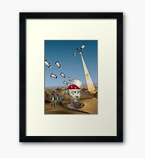 I've got Dalek's on my mind Framed Print