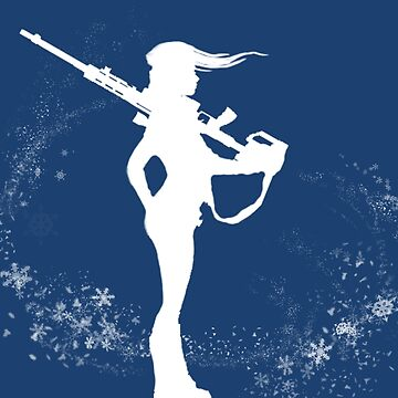 Cameron Archer Logo Winter Version Plain by CArcher