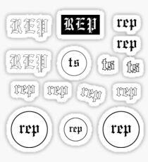 rep mini stickers Sticker