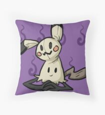 Mimikyu Throw Pillow