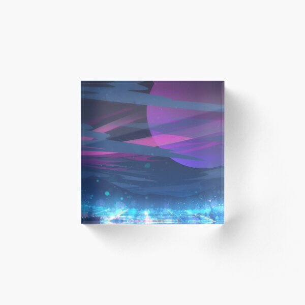 Gravity Acrylic Block