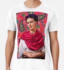 Frida Kahlo Paisley Men's Premium T-Shirt