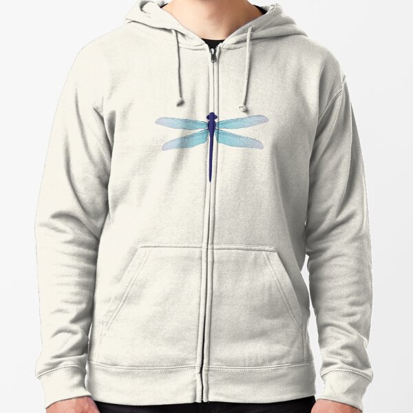 dragonfly Zipped Hoodie