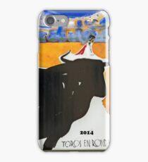 Toros En Ronda iPhone Case/Skin