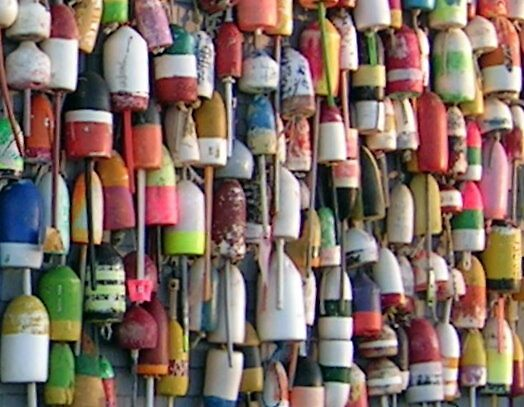 buoys by Peter Cook