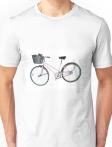Pink Pedal Challenge 2015 - Support Jo and Ginny - bike only Unisex T-Shirt