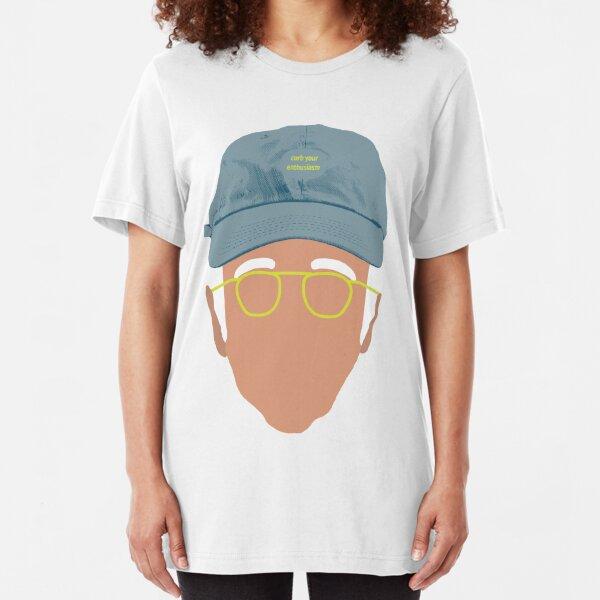 Larry David - Curb Your Enthusiasm  Slim Fit T-Shirt
