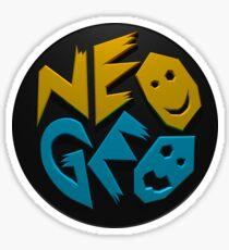 Neo Geo 3d Sticker