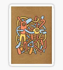 - craft birds - Sticker