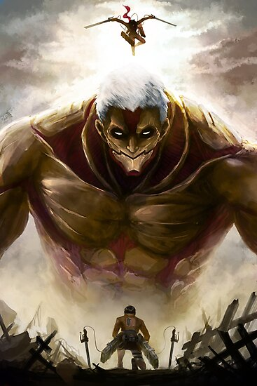 """""""The Armored Titan"""" Photographic Print by EmoryArt 