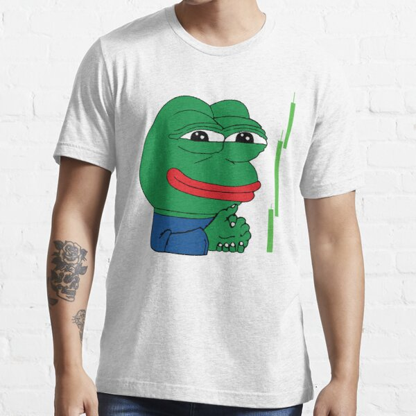 Crypto Frog Meme Sell Signal Essential T-Shirt