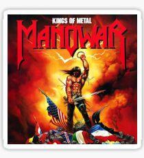 Manowar Kings Of Metal Sticker