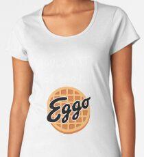 Stranger Things - Should I Stay or Should - Eggo parody Women's Premium T-Shirt