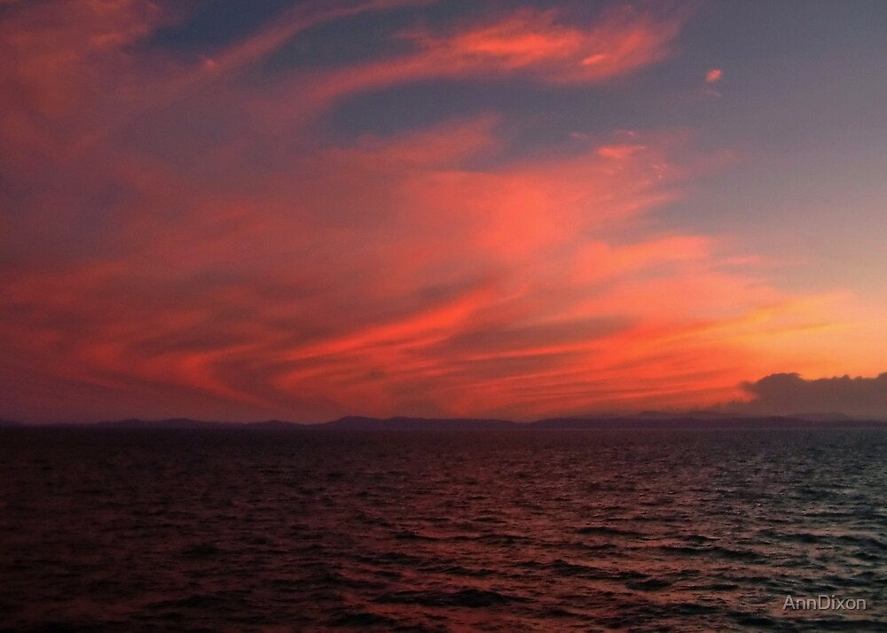 Red Sky at Night by AnnDixon