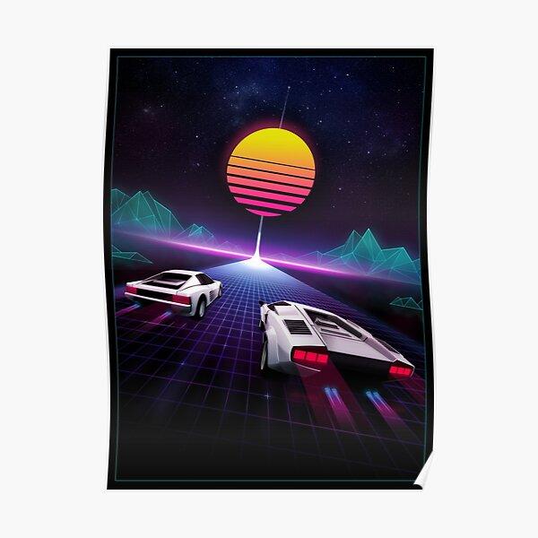 Neon Skyway Poster