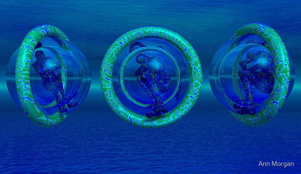 Underwater Sleep Balls by Ann Morgan