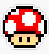 Mario Mashroom C Merchendise Sticker