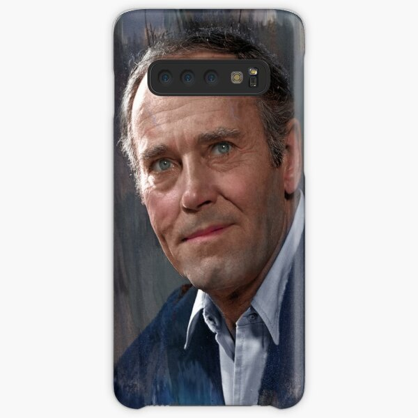 Henry Fonda colorized from photo by Youssuf Karsh Samsung Galaxy Snap Case
