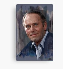 Henry Fonda colorized from photo by Youssuf Karsh Canvas Print