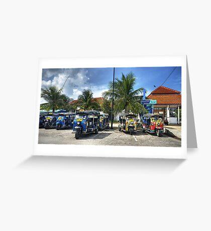 Tuktuks Greeting Card
