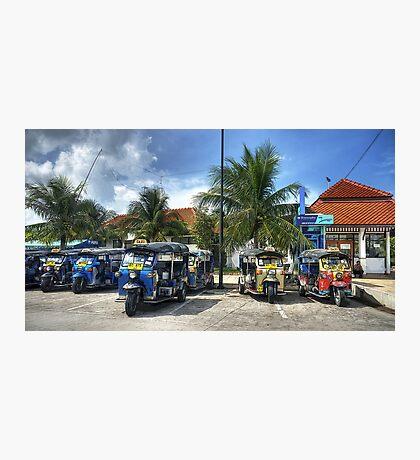 Tuktuks Photographic Print