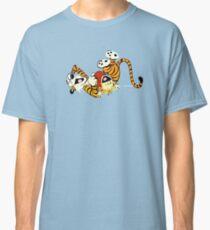 Calvin and Hobbes happy Classic T-Shirt
