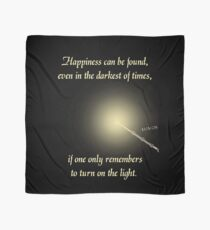 HP happiness quote Scarf