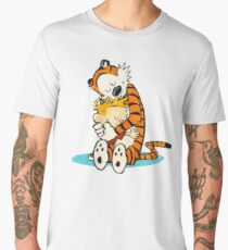 Calvin Hobbes Men's Premium T-Shirt