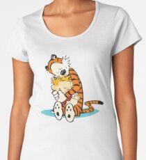 Calvin Hobbes Women's Premium T-Shirt