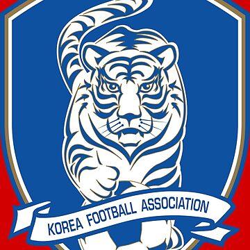 South Korea Football by TigersFanatics