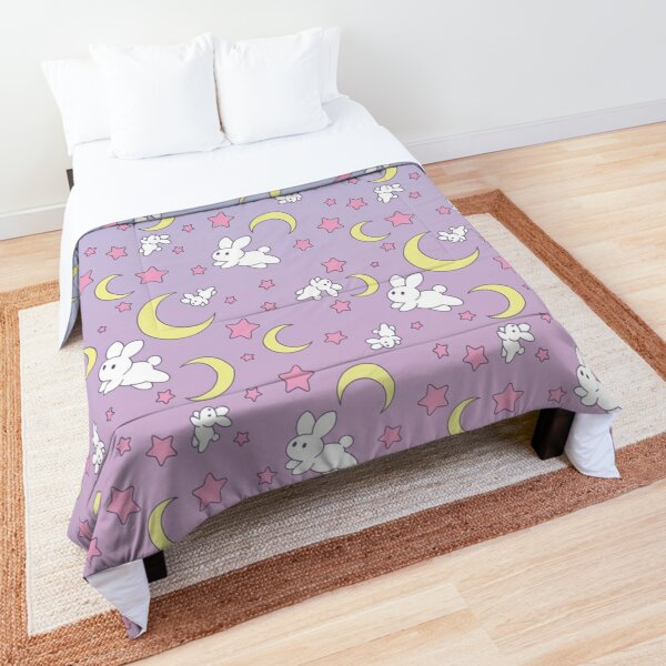 Usagi Pattern Old Style Comforter