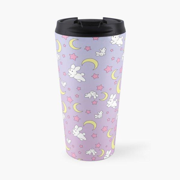Usagi Pattern Old Style Travel Mug