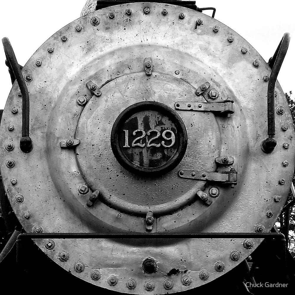 Steam Engine  # 1229 by Chuck Gardner