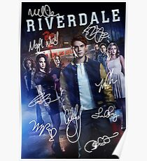Signed Riverdale Poster Poster