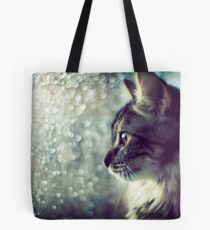 Staring Into the Open World Tote Bag
