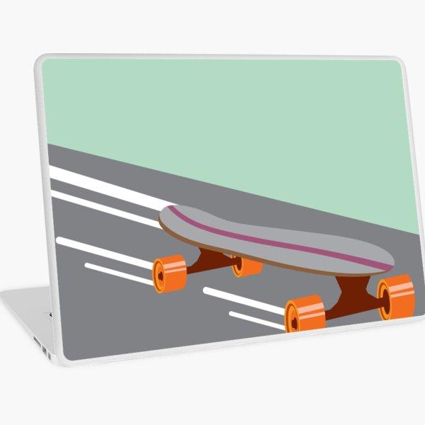 Fast Skateboard Laptop Skin