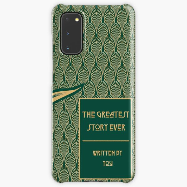 The Greatest Story Every Written, By You (Dark Moss) Samsung Galaxy Snap Case