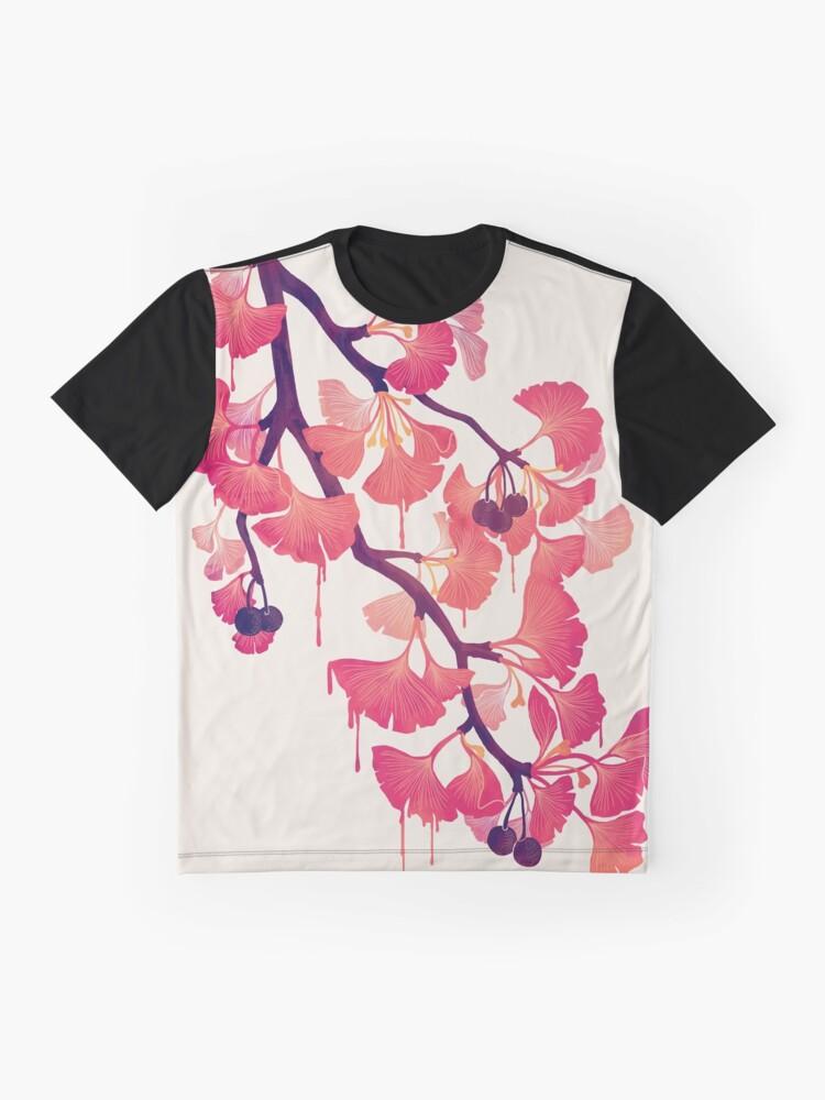 Vista alternativa de Camiseta gráfica Oh ginkgo