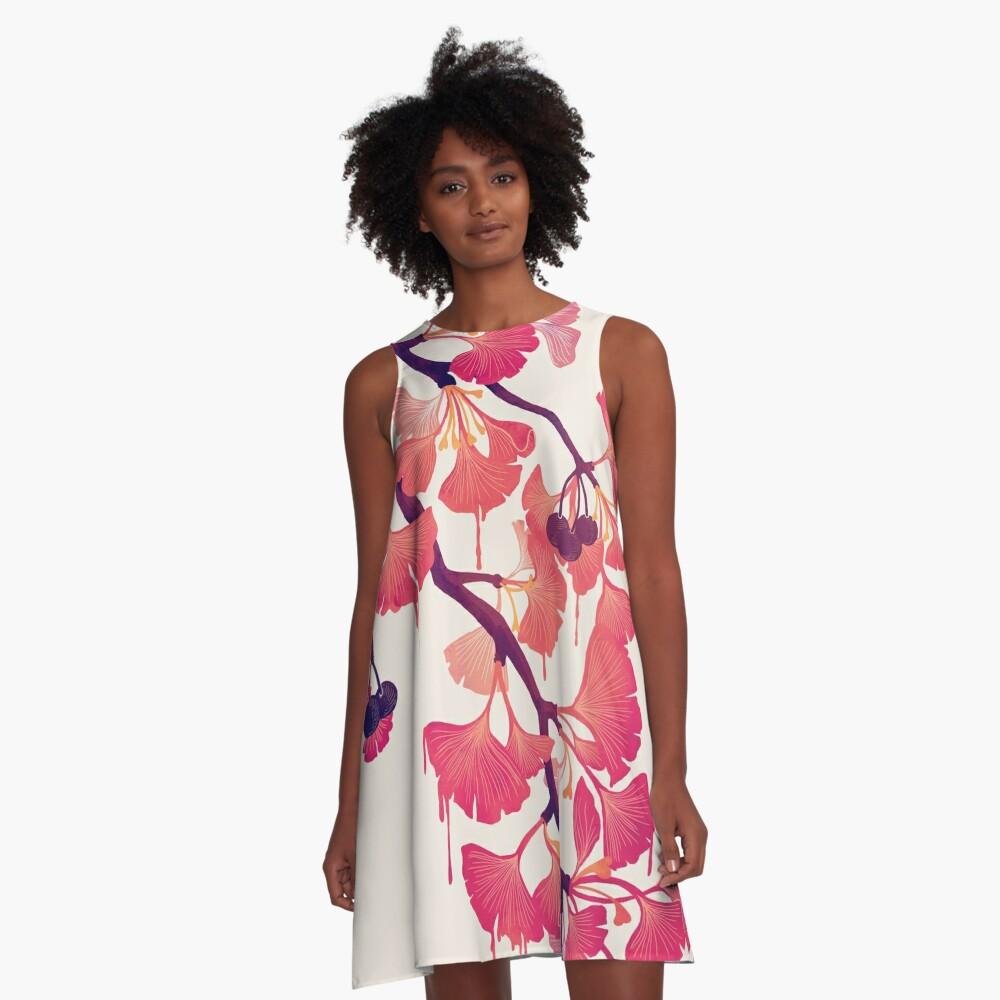 O Ginkgo A-Line Dress