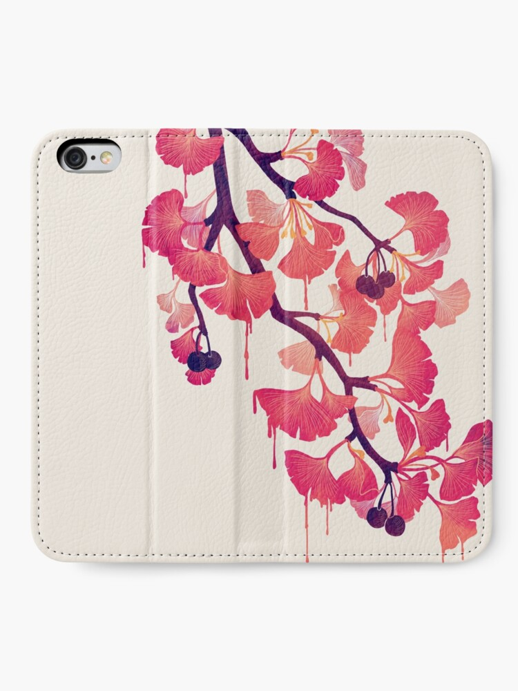 Alternate view of O Ginkgo iPhone Wallet