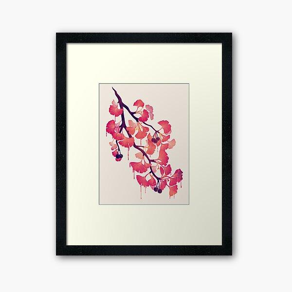 O Ginkgo Framed Art Print