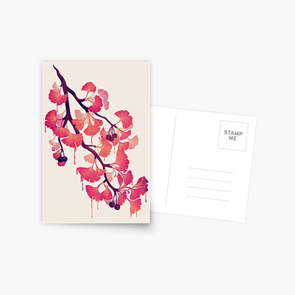 O Ginkgo Postcard