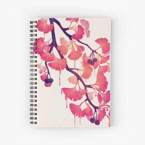 O Ginkgo Spiral Notebook