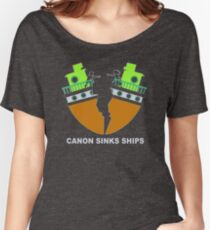 Canon Sinks Ships IH625 Trending Women's Relaxed Fit T-Shirt